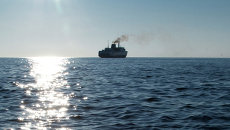 Паромное сообщение по перевозке грузов между портами Холмск (Сахалин) и Ванино (Хабаровский край). Архивное фото