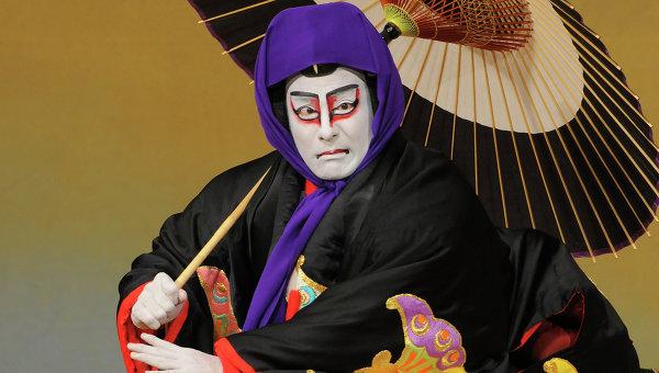Актер театра Кабуки Аиносукэ Катаока VI