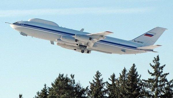 Первый бортовой комплекс технических средств (БКТС) на базе самолета ИЛ-80