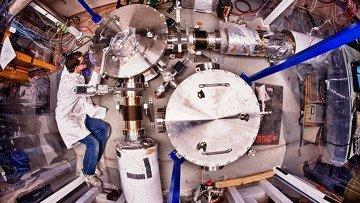 Голограф, созданный в лаборатории Ферми