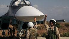 Российские пилоты в Сирии. Архивное фото