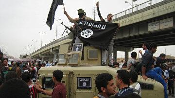 Боевики ИГ, архивное фото