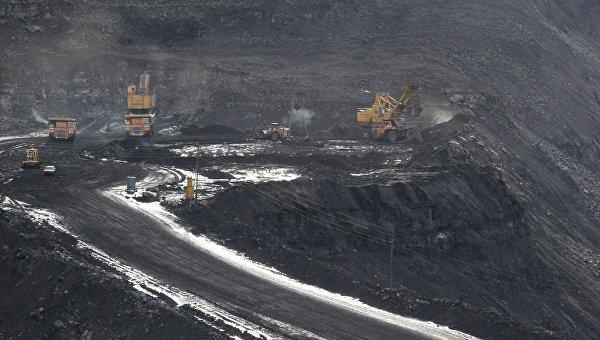 Черниговский угольный разрез в Кемеровской области. Архивное фото