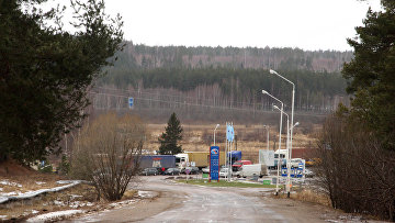 Пограничный переход «Куничина гора». Архивное фото