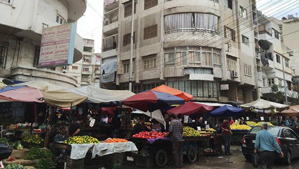 Улицы города Латакия в Сирии. Архивное фото