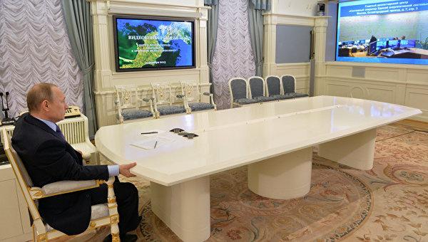 Путин запустил вторую нитку энергомоста с Кубани в Крым