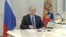 Путин из Кремля дал команду на пуск второй нитки энергомоста с Кубани в Крым