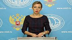 Захарова выразила недоумение от некоторых публикаций о Су-24 в турецких СМИ