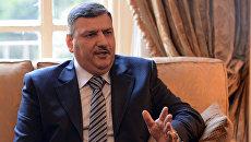 Бывший премьер-министр Сирии Рияд Хиджаб. Архивное фото