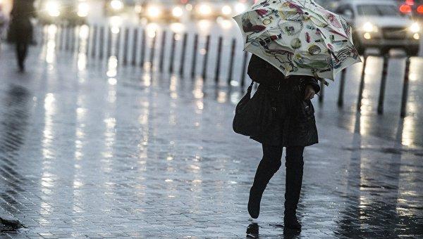 Погода в Москве в декабре. Архивное фото