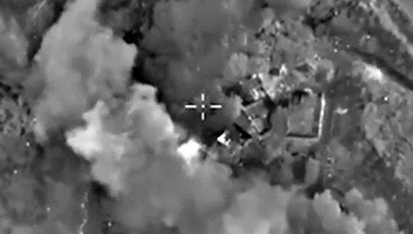 Уничтожение тренировочного лагеря террористической группировки ИГ (ДАИШ)