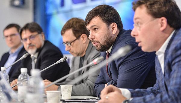 Представитель Донецкой народной республики в контактной группе по урегулированию ситуации на востоке Украины. Архивное фото