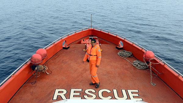 Поисково-спасательные работы у берегов Индонезии. Архивное фото