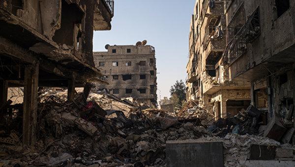 Ситуация в Сирии. Дамаск. Архивное фото