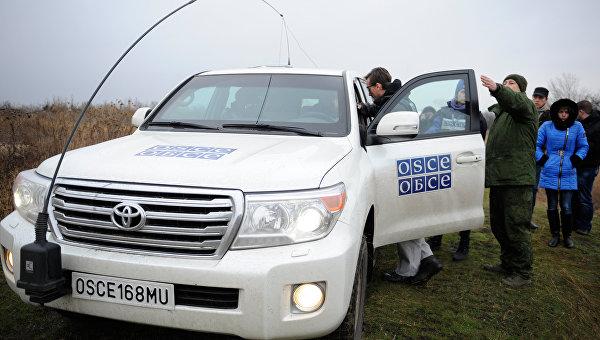 Миссия ОБСЕ не смогла обследовать место обстрела в районе Коминтерново. Архивное фото