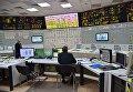 Блочный щит управления блоком Нововоронежской атомной электростанции