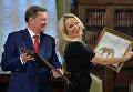 Встреча руководителя администрации президента РФ С.Иванова с делегацией Международного фонда защиты животных