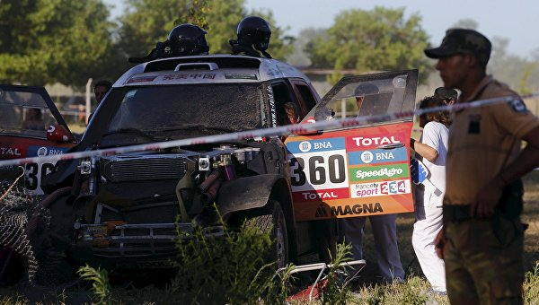 Инцидент на прологе ралли Дакар-2016