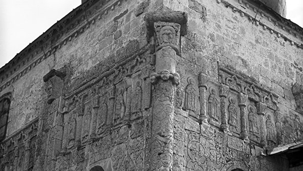 Георгиевский собор в городе Юрьев-Польском. Архивное фото