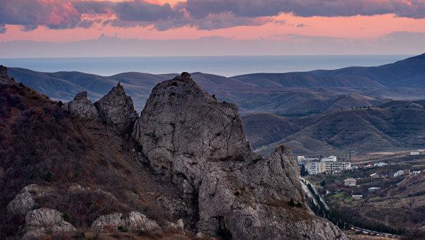Крым. Росия. Архивное фото