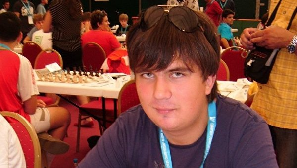 Гроссмейстер Иван Букавшин. Архивное фото