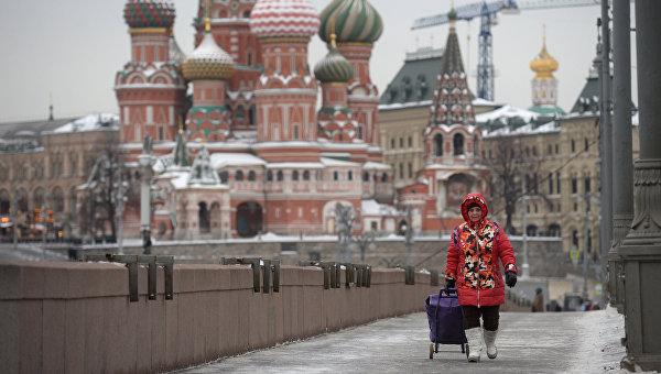Виды Москвы и Кремля, архивное фото