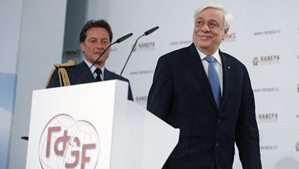 Президент Греческой Республики Прокопис Павлопулос