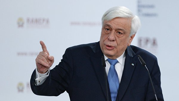 Президент Греческой Республики Прокопис Павлопулос. Архивное фото