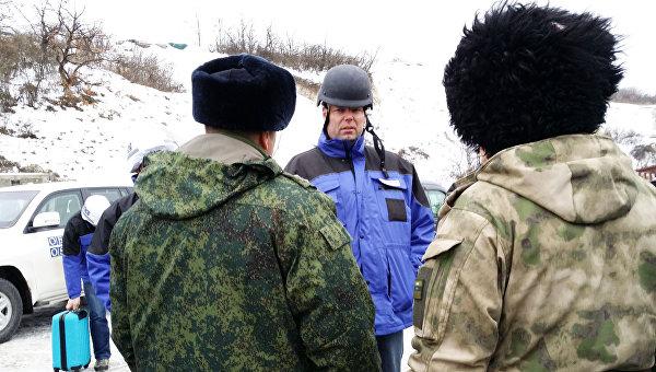 Первый заместитель главы Специальной мониторинговой миссии (СММ) ОБСЕ Александр Хуг. Архивное фото