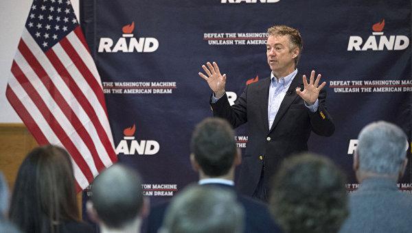 Республиканский кандидат в президенты США, сенатор Рэнд Пол. Архивное фото