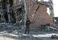 Возобновлены поиски погибших на территории аэропорта Донецка