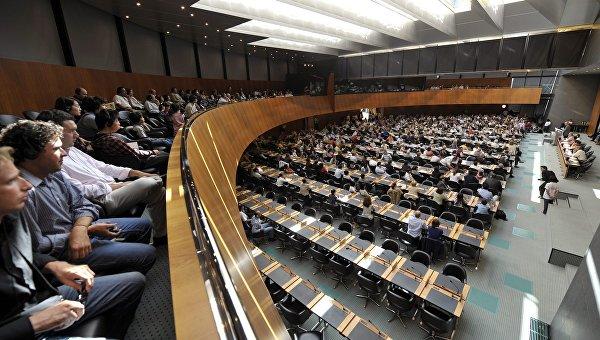 Заседание в штаб-квартире ВТО в Женеве