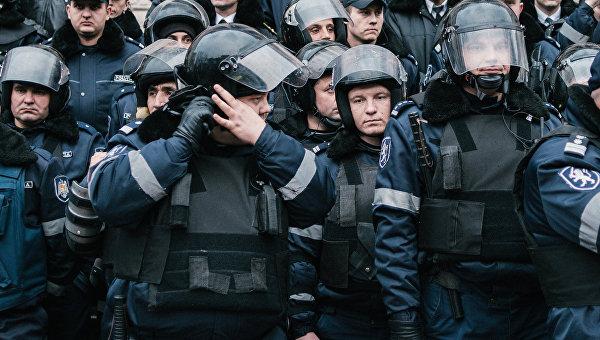 Антиправительственные протесты в Кишиневе