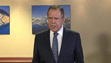 Лавров назвал ключевые темы переговоров с Керри в Цюрихе
