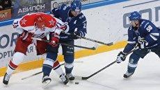 Хоккей. КХЛ. Матч Динамо (Москва) - ЦСКА