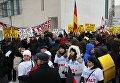Митинг в Берлине против насилия со стороны мигрантов
