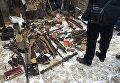 В Калининграде нашли арсенал оружия и патронов времен Великой Отечественной