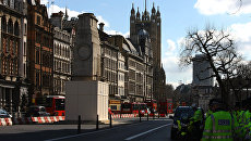 Здание парламента в Лондоне, Великобритания. Архивное фото