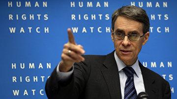 Исполнительный директор HRW Кеннет Рот