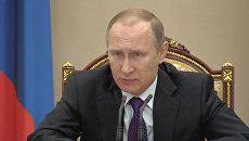 Путин попросил Скворцову оперативно реагировать на ситуацию с вирусом Зика