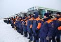 МЧС России проводит тренировку аэромобильной группировки по реагированию на чрезвычайные ситуации за рубежом