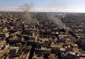Освобожденный от террористов ИГ город Шейх-Мискин в сирийской провинции Дераа