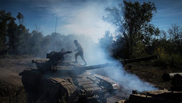 Отвод вооружений калибром менее 100 мм в ЛНР. Архивное фото