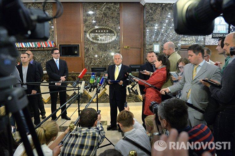 Встреча контактной группы по Украине
