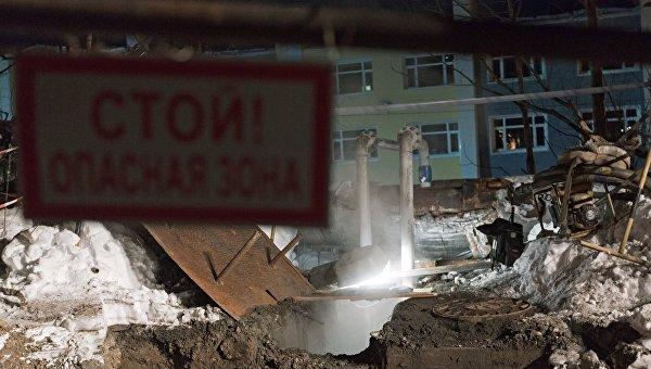 Место гибели камчатских школьников.