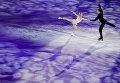 Евгения Тарасова и Владимир Морозов (Россия) участвуют в показательных выступлениях чемпионата Европы