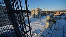 Строительство домов в городе Циолковский. Архивное фото