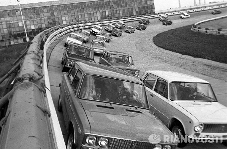 Испытательный трек Волжского автомобильного завода