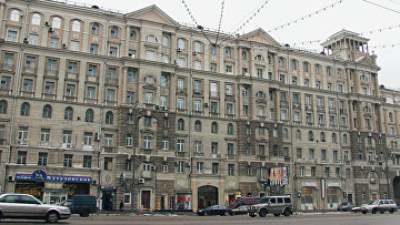 Жилой дом №26 на Кутузовском проспекте в Москве. Архивное фото
