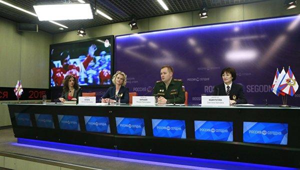 П/к, посвященная подготовке спортсменов ЦСКА к Олимпийским играм